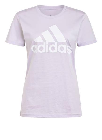 adidas T-Shirt MUST HAVES BADGE OF SPORT, Farbe: FLIEDER (Bild 1)