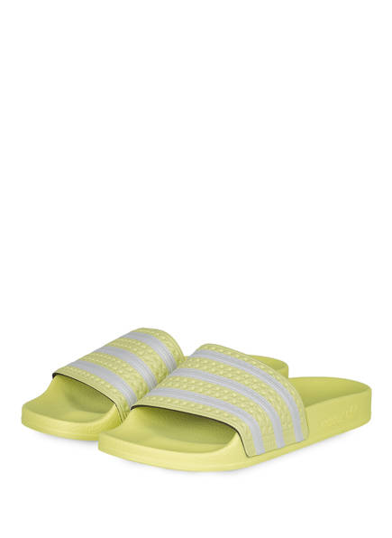 adidas Originals Pantoletten, Farbe: GELB (Bild 1)