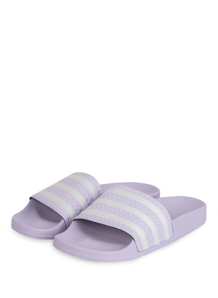 adidas Originals Pantoletten ADILETTE, Farbe: FLIEDER (Bild 1)
