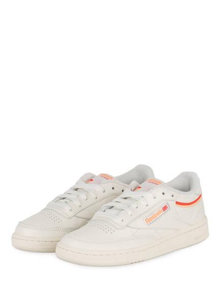 Reebok Sneaker CLUB C 85, Farbe: ECRU/ ROT (Bild 1)