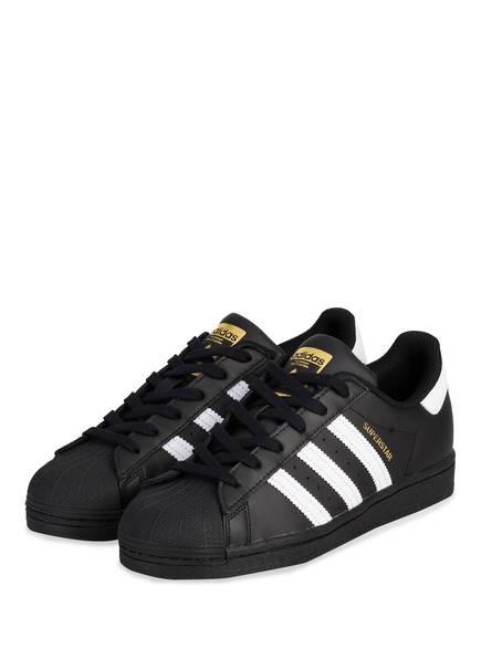 adidas Originals Sneaker SUPERSTAR, Farbe: SCHWARZ (Bild 1)