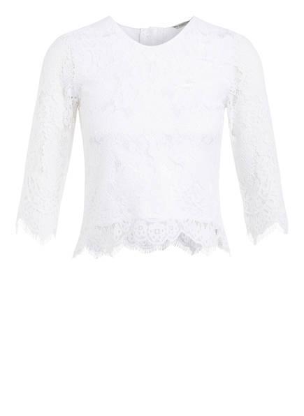GUESS Blusenshirt aus Spitze, Farbe: WEISS (Bild 1)