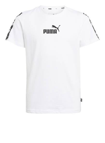 PUMA T-Shirt , Farbe: WEISS/ SCHWARZ (Bild 1)