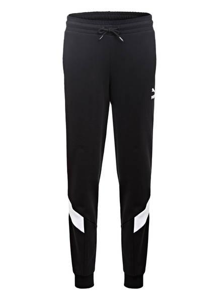 PUMA Sweatpants ICONIC MSC, Farbe: SCHWARZ/ WEISS (Bild 1)