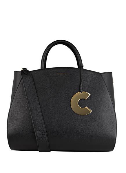 COCCINELLE Handtasche CONCRETE MAXI, Farbe: SCHWARZ (Bild 1)