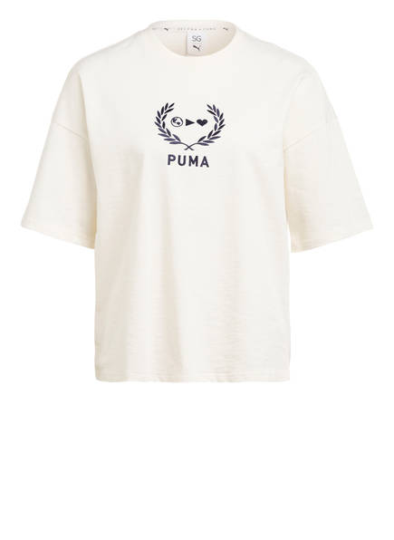 PUMA Oversized-Shirt, Farbe: ECRU (Bild 1)