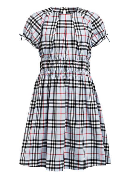 BURBERRY Kleid YOCE , Farbe: HELLBLAU/ SCHWARZ/ ROT (Bild 1)