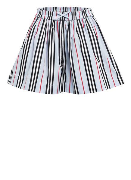 BURBERRY Shorts MARCY, Farbe: HELLBLAU/ SCHWARZ/ WEISS (Bild 1)
