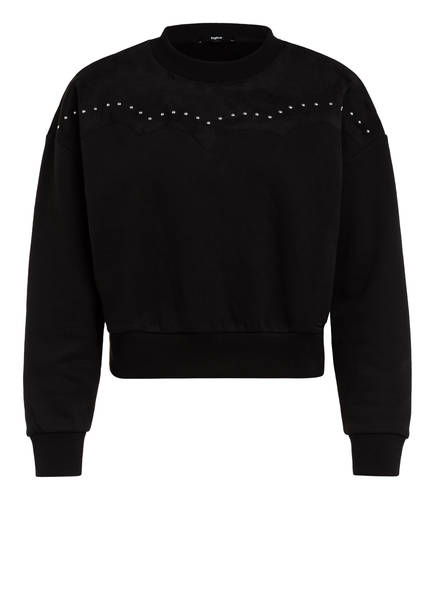 tigha Sweatshirt ELLIE , Farbe: SCHWARZ (Bild 1)