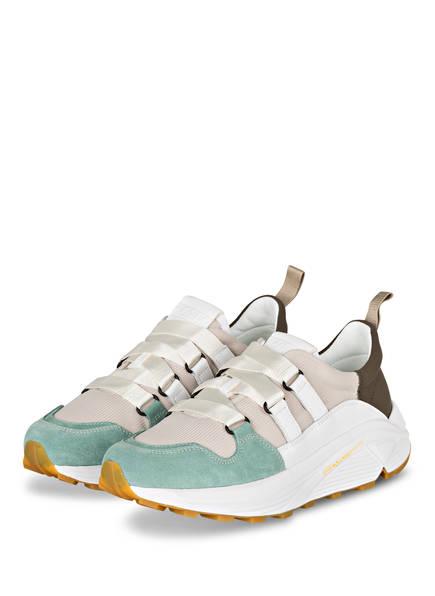 CLOSED Plateau-Sneaker, Farbe: BEIGE/ HELLGRÜN (Bild 1)