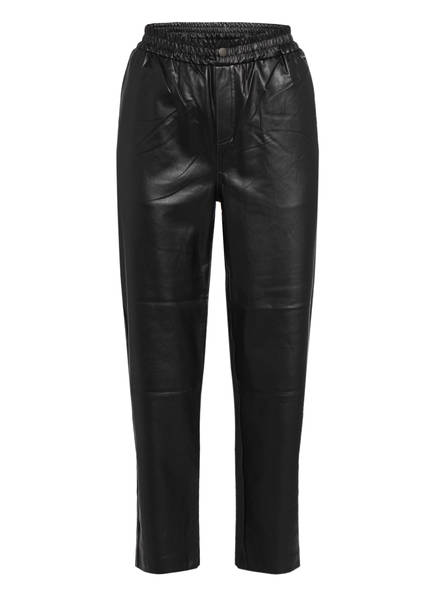 Pepe Jeans 7/8-Hose MOIRA in Lederoptik, Farbe: SCHWARZ (Bild 1)