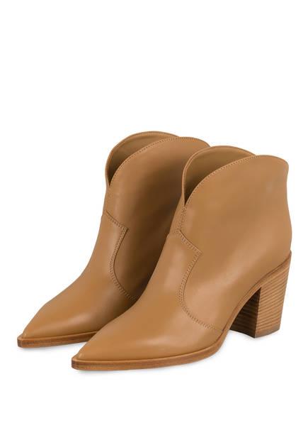 Gianvito Rossi Cowboy Boots , Farbe: CAMEL (Bild 1)