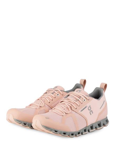 On Running Laufschuhe CLOUD WATERPROOF, Farbe: ROSE/ GRAU (Bild 1)