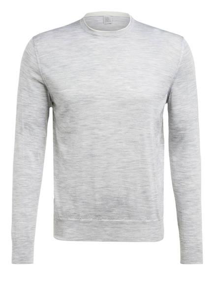 eleventy Pullover mit Seide, Farbe: HELLGRAU MELIERT (Bild 1)