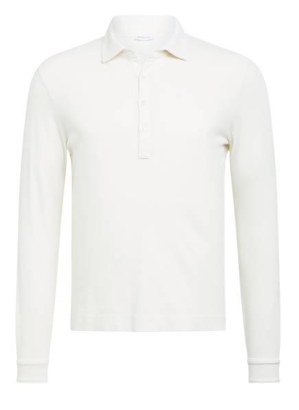 BOGLIOLI Piqué-Poloshirt, Farbe: WEISS (Bild 1)