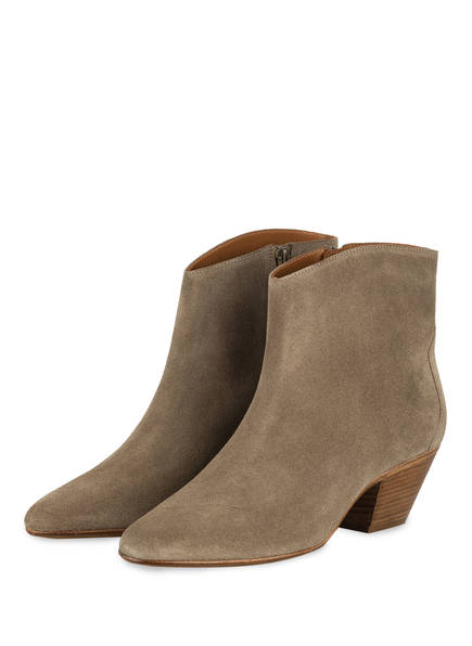 ISABEL MARANT Cowboy Boots DACKEN, Farbe: TAUPE (Bild 1)