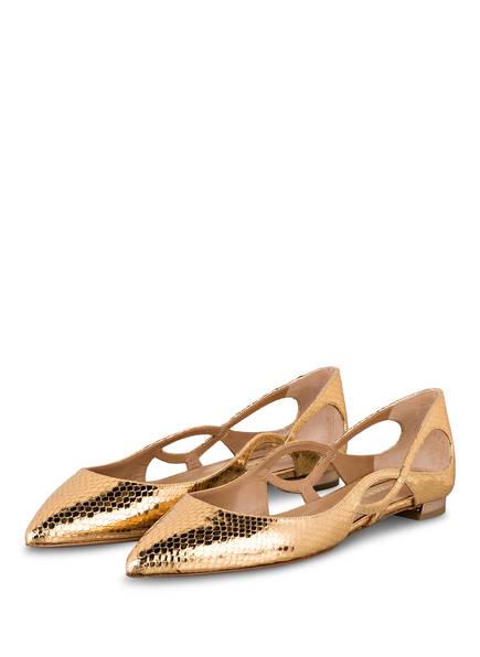 AQUAZZURA Ballerinas FOREVER, Farbe: GOLD (Bild 1)