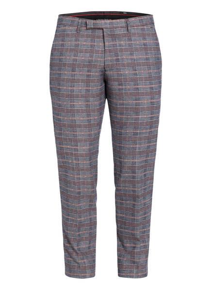 CINQUE Anzughose CIFIDELIO-H Super Slim Fit, Farbe: 65 BLAU/ WEISS/ ORANGE (Bild 1)