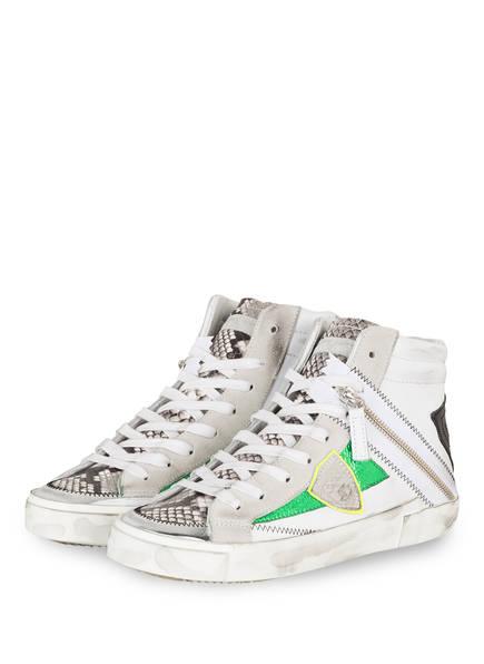 PHILIPPE MODEL Sneaker PHYTON , Farbe: HELLGRAU/ SCHWARZ (Bild 1)