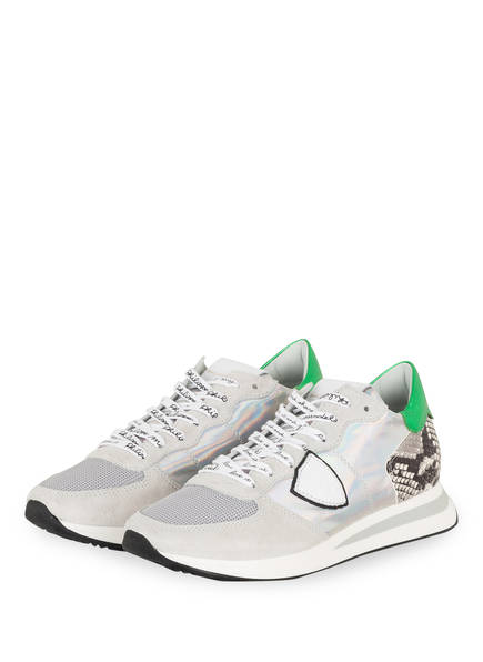 PHILIPPE MODEL Sneaker PHYTON IRIDE, Farbe: HELLGRAU/ GRAU (Bild 1)