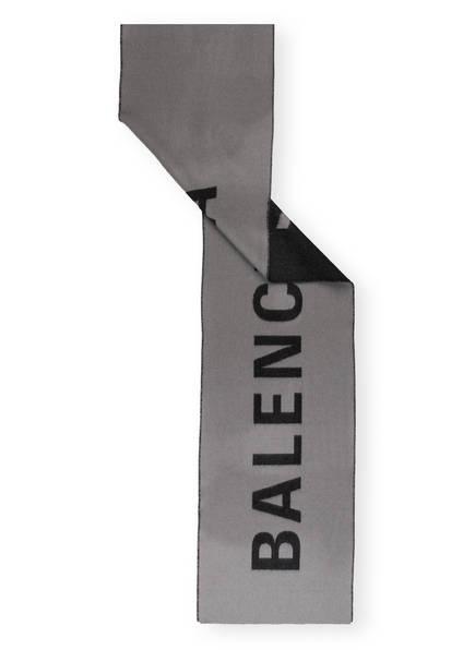 BALENCIAGA Schal, Farbe: GRAU/ SCHWARZ (Bild 1)