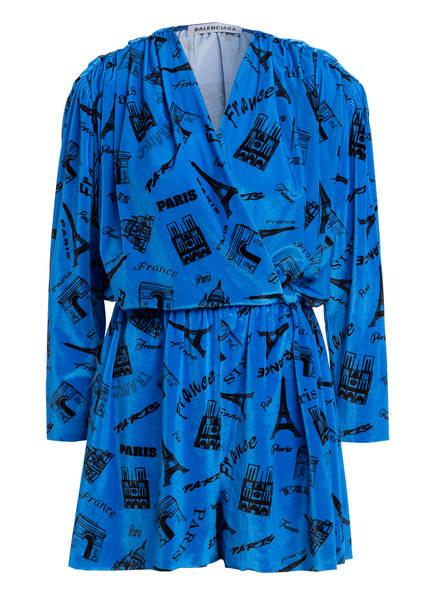BALENCIAGA Jumpsuit, Farbe: BLAU/ SCHWARZ (Bild 1)