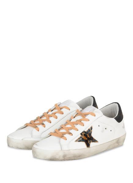 GOLDEN GOOSE Sneaker SUPERSTAR, Farbe: WEISS (Bild 1)