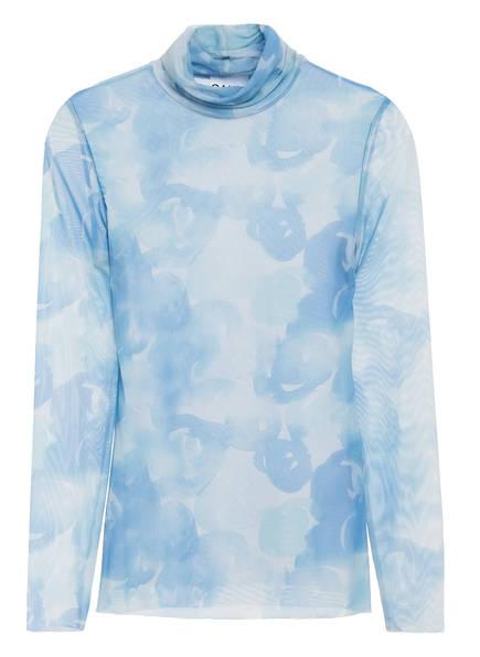 GANNI Blusenshirt, Farbe: HELLBLAU (Bild 1)