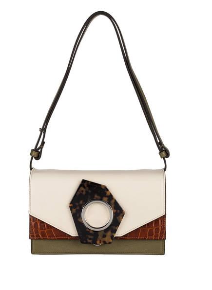 GANNI Handtasche, Farbe: CREME/ BRAUN/ OLIV (Bild 1)