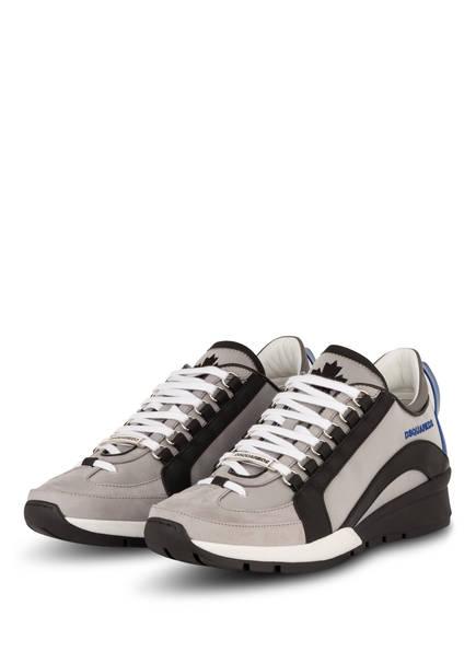 DSQUARED2 Sneaker, Farbe: HELLGRAU/ SCHWARZ/ WEISS (Bild 1)