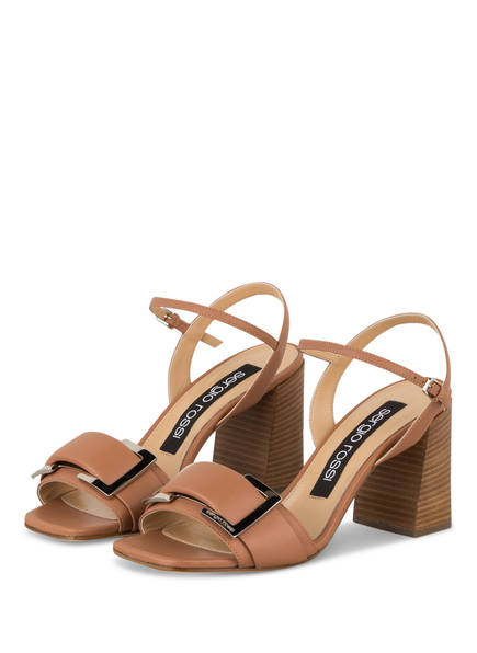 sergio rossi Sandaletten, Farbe: HELLBRAUN (Bild 1)