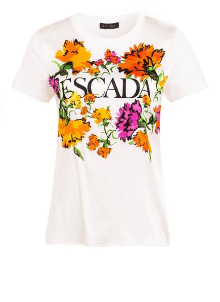 ESCADA T-Shirt ELLI mit Seide, Farbe: WEISS (Bild 1)