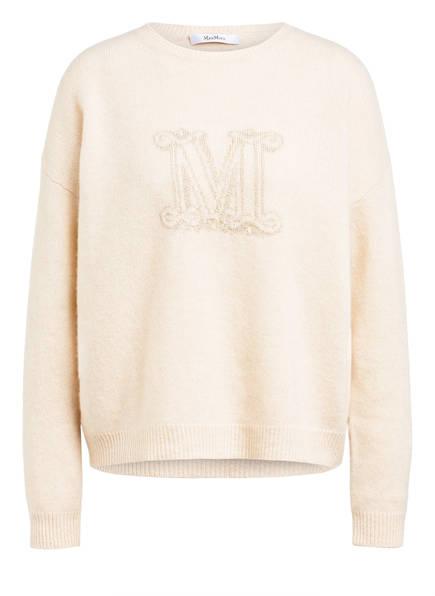Max Mara Cashmere-Pullover UDINE, Farbe: ECRU (Bild 1)