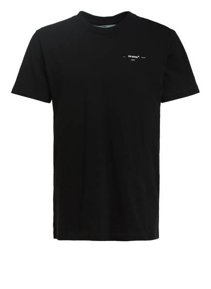 OFF-WHITE Oversized-Shirt mit Patches, Farbe: SCHWARZ (Bild 1)