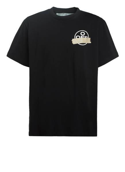 OFF-WHITE Oversized-Shirt, Farbe: SCHWARZ/ BEIGE (Bild 1)