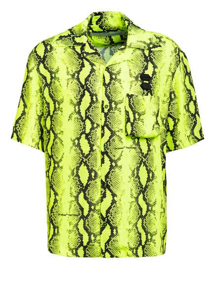 OFF-WHITE Resort-Hemd Regular Fit , Farbe: NEONGELB/ SCHWARZ (Bild 1)