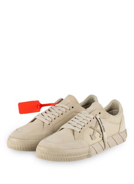 OFF-WHITE Sneaker LOW VULCANIZED, Farbe: BEIGE (Bild 1)