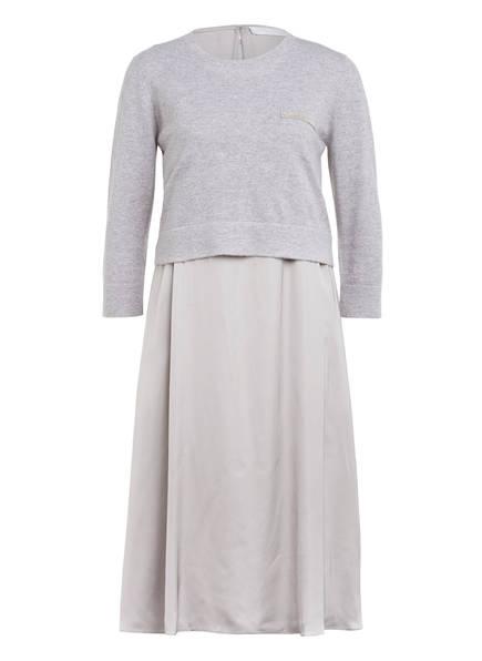 FABIANA FILIPPI 2-in-1-Kleid, Farbe: HELLGRAU (Bild 1)