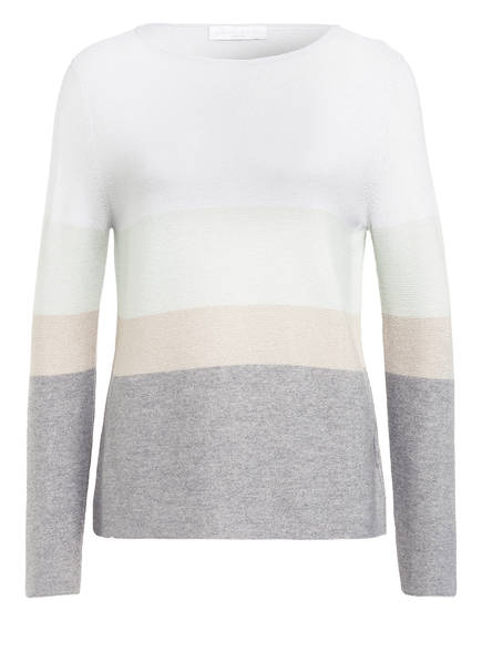 FABIANA FILIPPI Pullover , Farbe: CREME/ BEIGE/ HELLGRAU (Bild 1)