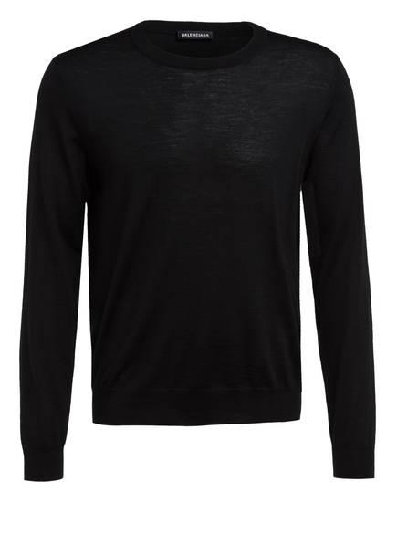 BALENCIAGA Pullover, Farbe: SCHWARZ/ NEONGRÜN (Bild 1)