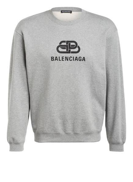 BALENCIAGA Sweatshirt, Farbe: HELLGRAU MELIERT (Bild 1)