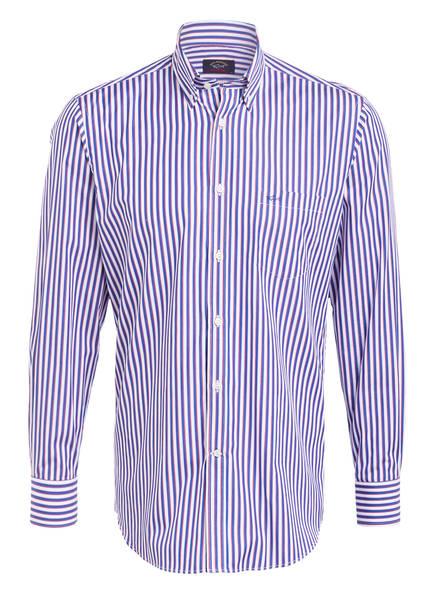 PAUL & SHARK Hemd Regular Fit, Farbe: WEISS/ BLAU (Bild 1)