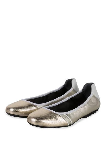 HOGAN Ballerinas, Farbe: GOLD/ WEISS (Bild 1)
