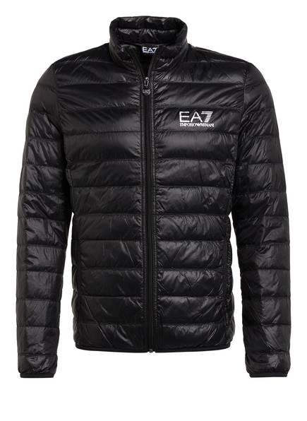 EA7 EMPORIO ARMANI Lightweight-Daunenjacke, Farbe: SCHWARZ (Bild 1)