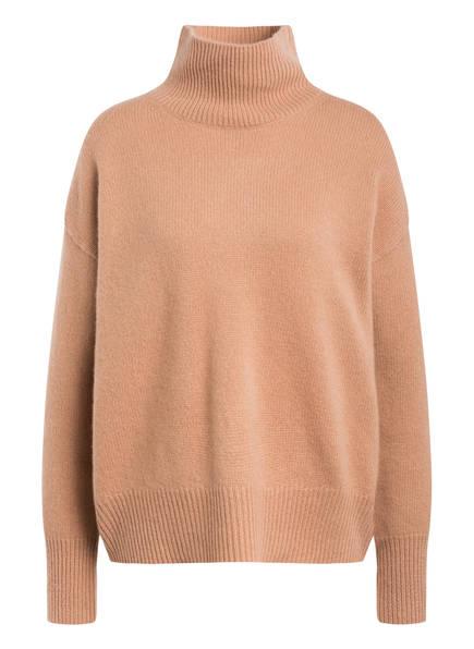 360CASHMERE Cashmere-Pullover TASHA, Farbe: CAMEL (Bild 1)