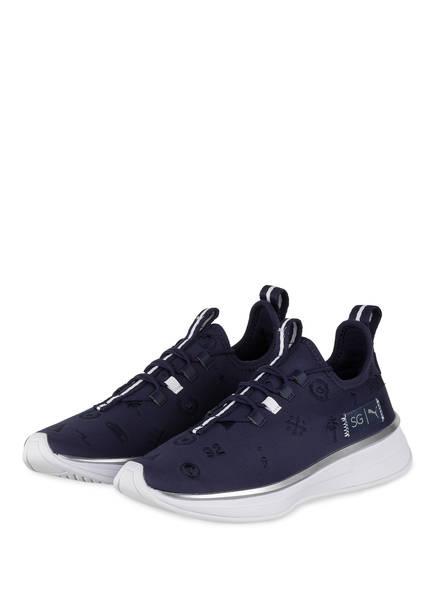 PUMA Plateau-Sneaker RUNNER EMBROIDERY , Farbe: BLAU (Bild 1)