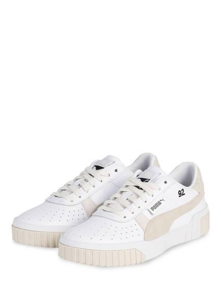 PUMA Sneaker CALI , Farbe: WEISS/ CREME (Bild 1)
