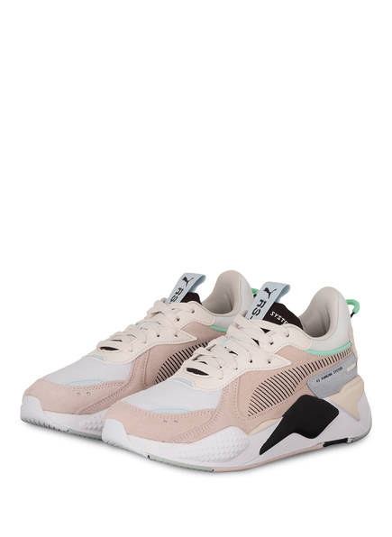 PUMA Plateau-Sneaker RS-X REINVENT, Farbe: NUDE/ HELLGRAU/ HELLBLAU (Bild 1)