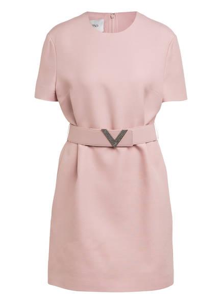 VALENTINO Kleid mit Seide, Farbe: ROSE (Bild 1)