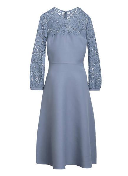 VALENTINO Kleid mit Seide, Farbe: BLAU (Bild 1)